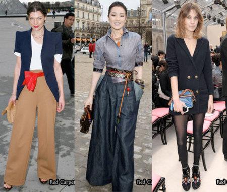 El front-row de Louis Vuitton en la Semana de la Moda de París