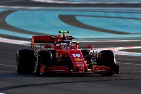 Leclerc Abu Dabi F1 2020