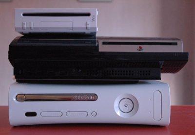 Diferencia de tamaños entre las consolas de última generación