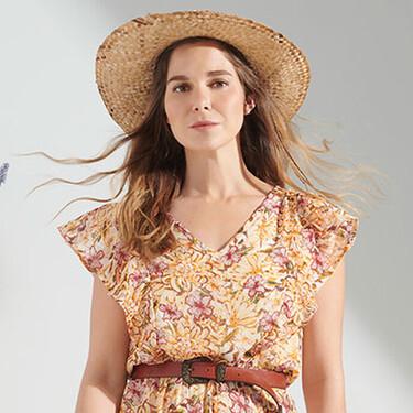 El vestido boho de Natalia Sánchez es de Lidl y cuesta menos de 10 euros