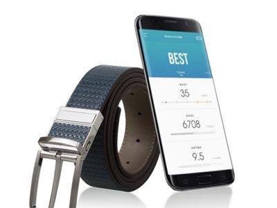 """El cinturón """"inteligente"""" de Samsung ahora busca financiación para ser un producto real"""