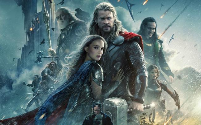 Thor El Mundo Oscuro Poster