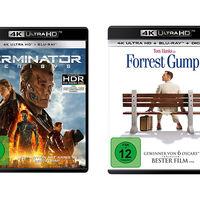 Forrest Gump y Terminator Genisys también tendrán una versión en Blu-ray UHD con soporte para HDR y 4K