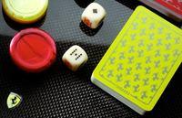 Detalles para un Gentleman Driver (IV) Set de poker de Ferrari en fibra de carbono
