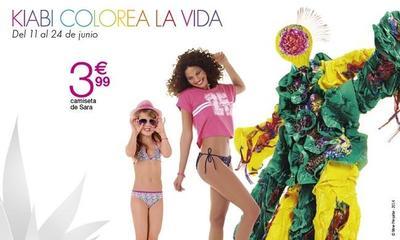 Kiabi tiene una selección de prendas a  precios reducidos para 'colorear la vida'