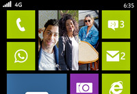 Otra captura de pantalla del Nokia Moneypenny, ahora en su versión Single-SIM