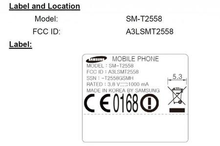 La FCC certifica un modelo que veríamos muy pronto Samsung SM-T2558