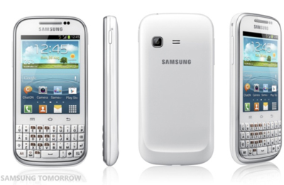 Samsung Galaxy Chat con teclado QWERTY