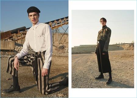 LUISAVIAROMA nos muestra una versión más high fashion de la tendencia militar
