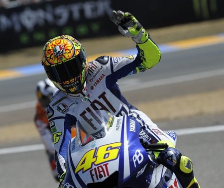 MotoGP Italia 2010, Italia contra España