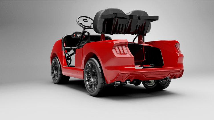 Foto de Ford Mustang carrito de golf (3/5)