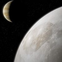 El Hubble detecta, por primera vez, evidencia de vapor de agua en Ganímedes, la luna de Júpiter