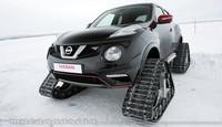 Nissan Juke NISMO RSnow, con orugas para nieve