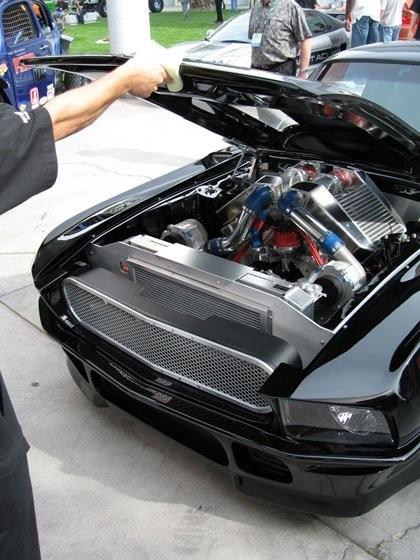 Obsidian Mustang
