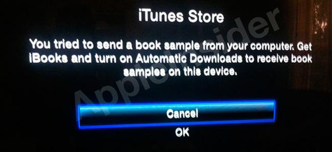 Apple TV iBooks