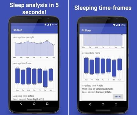 FitSleep, una app que nos dice lo bien que dormimos mediante Google Fit