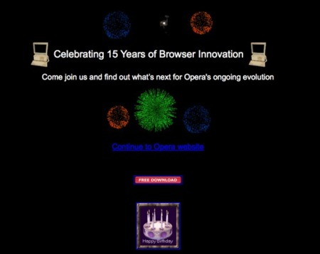Opera cumple 15 años