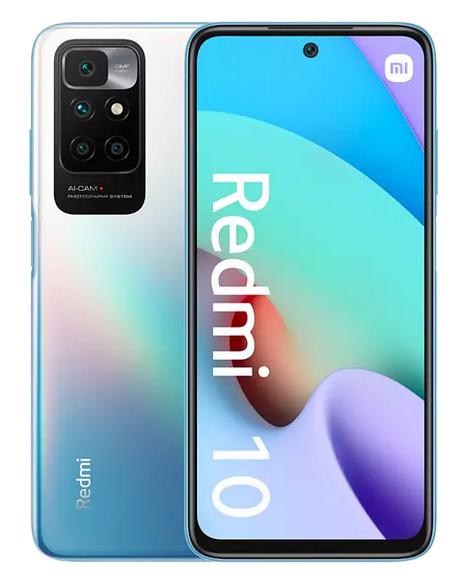 Xiaomi Redmi 10, Azul Océano, 4 GB / 128 GB