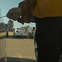 Una señora raya un Tesla Model 3 y el coche lo graba todo en un vídeo tan viral que la mujer se entrega a la Policía