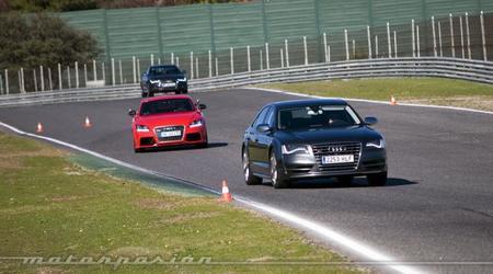 Audi Gama S y TT RS Plus, presentación y prueba en el Circuito del Jarama (parte 2)