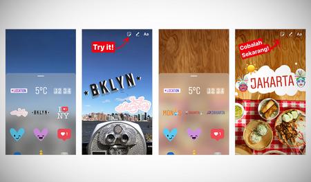 Instagram se inspira en Snapchat y ahora permite añadir geostickers a tus instantáneas