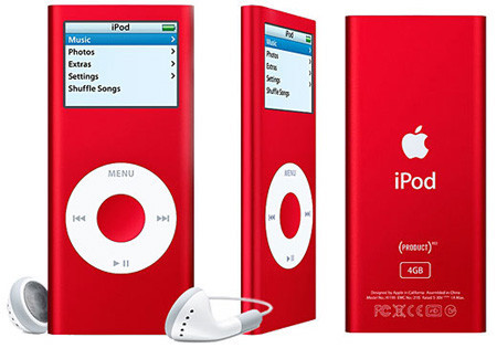 iPod Nano RED Special Edition