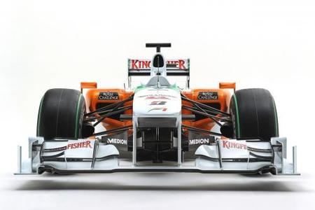 Force India desvela el VJM03