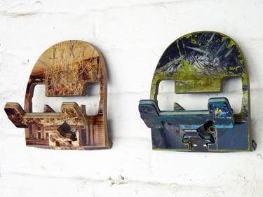 Recicladecoración: colgadores hechos con tablas de skate