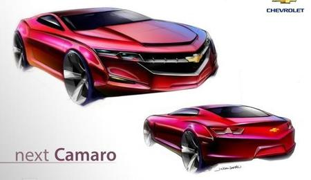 A vueltas con el diseño del futuro Chevrolet Camaro