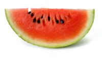 Comparando la sandía y el melón