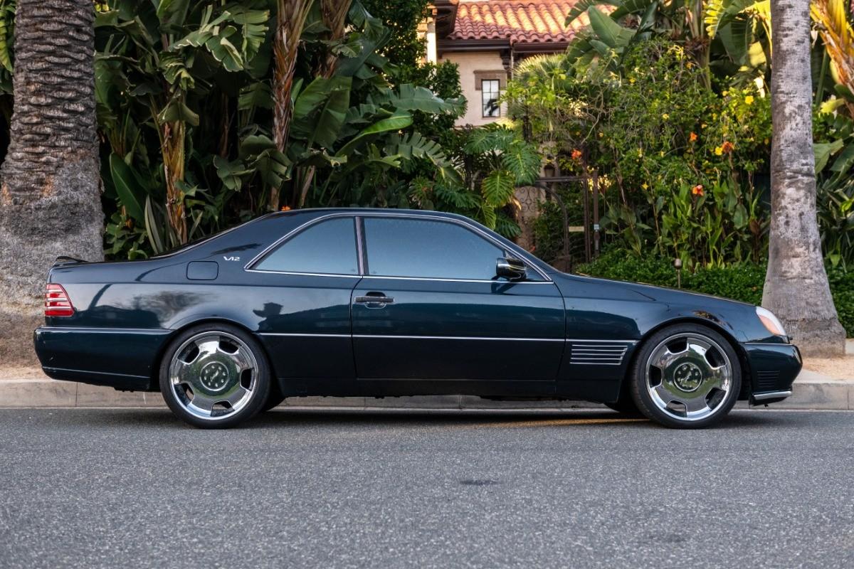 El Mercedes Benz S600 Lorinser de Michael Jordan, a subasta