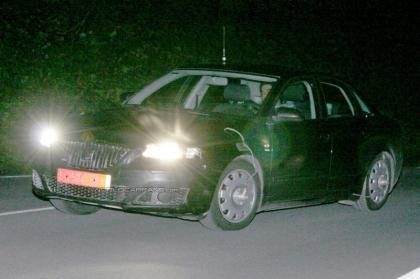 Test mule del SEAT Toledo 2009