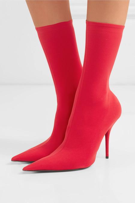 Botas Rojas Mujer 09