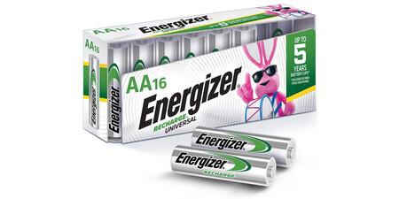 Estas baterías recargables AA de Energizer está en su precio más bajo a la fecha, llévate 16 por 655 pesos
