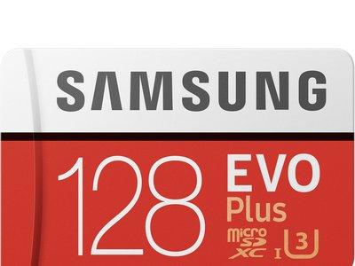 Tarjeta de memoria MicroSD Samsung Evo Plus, de 128GB, por 45 euros y envío gratis