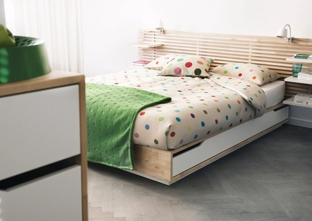 Mandal Bed Frame With Storage Birch White 0211855 Pe322091 S5
