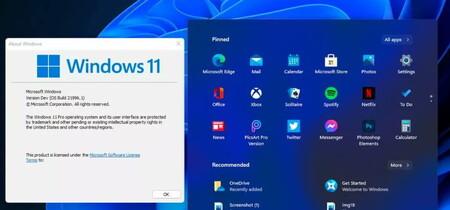 Pantallazo de Windows 11