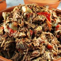 Machaca estilo Sinaloa. Receta tradicional mexicana