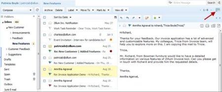Zoho Mail renueva su diseño y añade nuevas funcionalidades