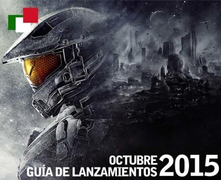 Guía de lanzamientos mensuales en México: octubre 2015