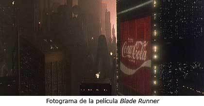 Anuncio de Coca-Cola en la película 'Blade Runner'