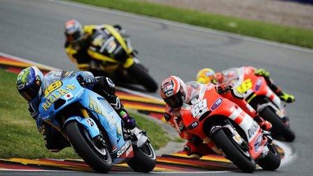 MotoGP Alemania 2011: La novia de Álvaro Bautista se llama motociclismo