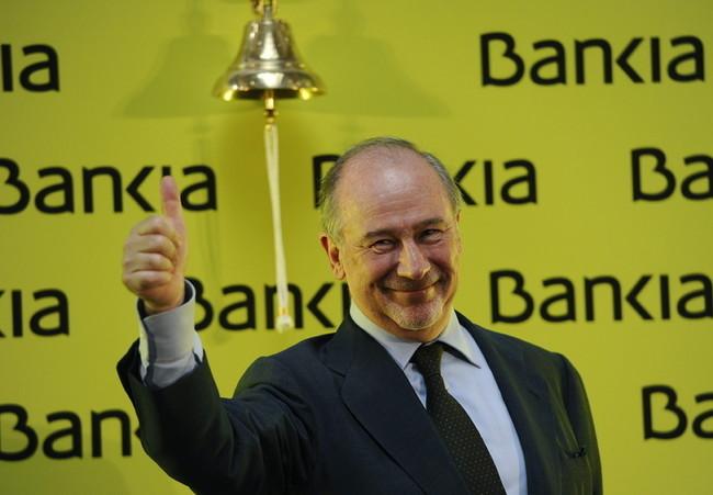 Rodrigo Rato en Bankia