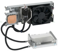 Refrigeración por agua para discos duros