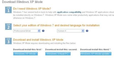 Descarga el modo de compatibilidad de XP aunque tu hardware no sea compatible en Windows 7