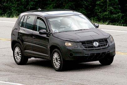Fotos espías del Volkswagen Tiguan