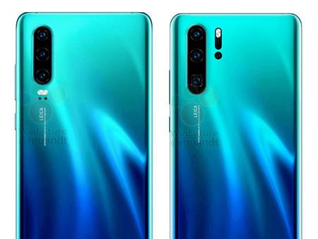 Los Huawei P30 y P30 Pro vuelven a filtrarse en imágenes y anticipan zoom óptico x10 para el más potente