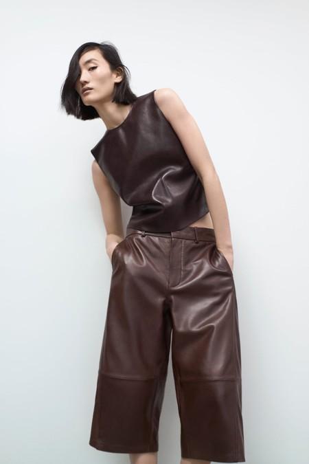 Zara apuesta por un todo al cuero esta primavera, aunque a precios más altos de lo habitual