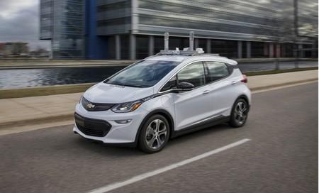 Chevrolet Bolt EV conducción autónoma