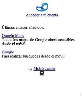 nlacs.com, gestor de enlaces para móvil